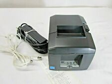 Star Micronics TSP650ii Ethernet/USB Thermal Printer Auto Cutter w/ Power Supply