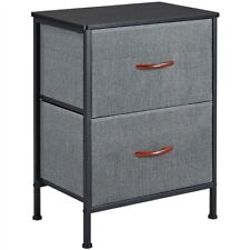 Storage Dresser Fabric Shelf Closet with Removable Organizer/Drawers for Bedroom