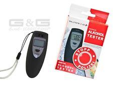 Neuheit: Digital Alkoholtester Atem Alkohol Promille Tester mit Digitalanzeige
