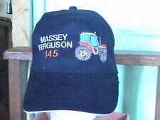 CASQUETTE  TRACTEUR MASSEY FERGUSON  145  broderie et création exclusive