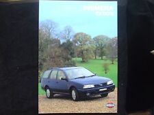 NISSAN PRIMERA ESTATE FULL SALES BROCHURE LX & SLX 1995