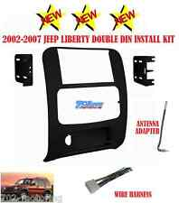 KIT + HARNESS + ANTENNA RADIO STEREO CAR INSTALLATION DASH DOUBLE DIN GPS BLACK