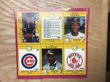1991 Fleer Baseball Uncut Sheet