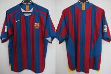 2005-2006 Fc Barcelona Barca Soccer Football Jersey Shirt Camiseta Home Nike L