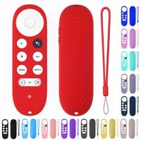 For Chromecast With Google TV 2020 Voice Remote Anti-Lost Silicone Case