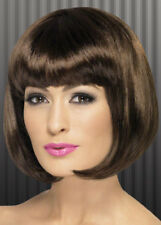 Ladies 20's Dark Brown Partyrama Wig