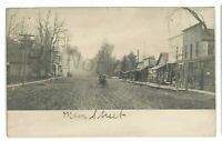 RPPC Street View Old Stores LAWRENCEVILLE PA Tioga County Real Photo Postcard