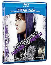 Justin Bieber - Never Say Never - Triple Play (Blu-ray + DVD+ Digital Copy)