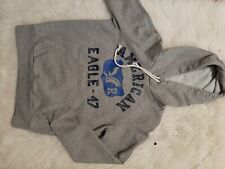 American Eagle Mens pull over Hoodie Size XS Gray.