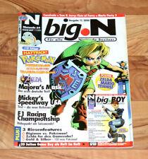 2000 Nintendo 64 Magazine Mario Party 3 Tennis Zelda Majora's Mask Perfect Dark