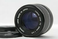 [ Exc+++++ ]  Canon New FD NFD 100mm f/2.8 MF Telephoto Lens from Japan A435