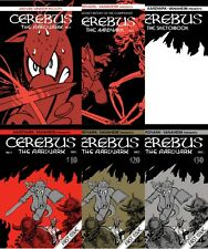 Cerebus No.1 remastered every edition + bonus Bronze Age Comics