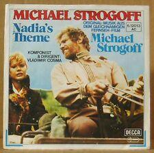 "7"" Vladimir Cosma Michael Strogoff /Nadia's Theme Decca Soundtrack 1977"
