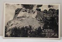 Mt Rushmore Under Construction, Gutzon Borglum, Rise Studio RPPC Postcard C8
