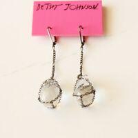New Betsey Johnson Teardrop Drop Dangle Earrings Gift Fashion Lady Party Jewelry