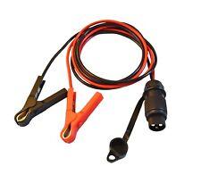 Motorrad Bikestart® Starterkabel mit Batterieklemmen Starthilfekabel für 6V/12V