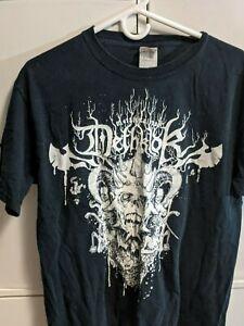 Metalocalypse Dethklok Tee T-Shirt, Pre-Owned, Size Large, Adult Swim