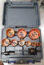 14 pc Kit #6 Hole Saw Kit Bi-Metal & Plastic Case