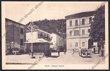 ALESSANDRIA GAVI 15 SCRITTA FASCISTA - AUTO d'EPOCA - VESPASIANO Cartolina 1944