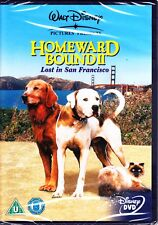 HOMEWARD BOUND II - LOST IN SAN FRANCISCO DVD  REGION 4 WALT DISNEY