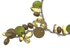 Statement Necklaces Green Beaded Necklaces Green Jewellery IAS356