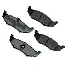 Disc Brake Pad Set-Proact Ultra Premium Ceramic Pads Rear Akebono ACT782