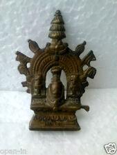 Old Brass Rare God Jagannath, Subhadra, Balram Statue / Idol, Collectible