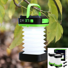 2 Pcs LE LED Camping Hiking Tent Latern Light Battery Power Energy Saving Lamp