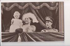 Vintage Postcard King Leopold III & Queen Astrid of Belgium