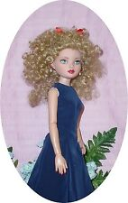 Monique Doll Wig 7/8 Blonde , lots of Curls