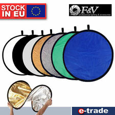 7in1 Multi Photo Disc Collapsible Light Reflector Photography Studio 80cm