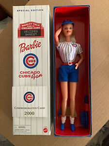 Chicago Cubs Special Edition Barbie Doll- 2000
