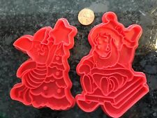 Vintage Christmas Cookie Cutter Set Winnie the Pooh & Piglet CUTE