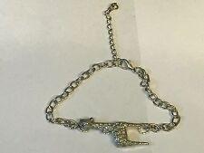 Giraffe TG44 Fine English Pewter on a Anklet / Bracelet