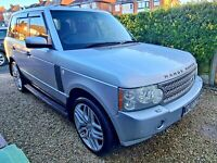 07 range rover vogue HSE, low milage low owners, fabulous condition, FSH 2 keys