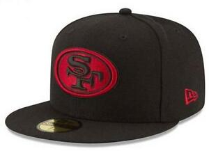 Official 2015 San Francisco 49ers New Era 59FIFTY NFL On Field Fitted Hat