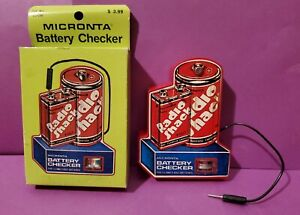 VINTAGE RADIO SHACK BATTERY TESTER IN WORKING CONDITION PLEASE VIEW ALL PHOTOS