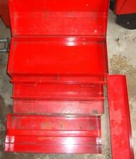 snap-on snap on tool box two drawer mechanics tool box