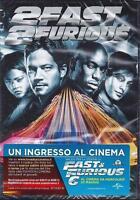 Dvd **2 FAST 2 FURIOUS** con Paul Walker nuovo sigillato 2003