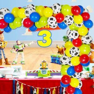Cow Print Balloon Cowboy Kit Birthday Party Decorations Toy Story Theme balloons