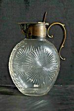 Carafe ou pichet en cristal - XIXème