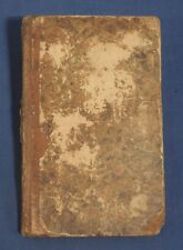 1828 The Pocket Lawyer or Self-Conveyancer All the Most Useful Forms HC Antique