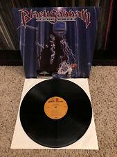 BLACK SABBATH DEHUMANIZER DIO LP HYPE STICKER HEAVY METAL