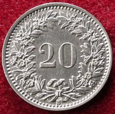 Switzerland 20 Rappen 1934
