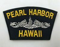 Pearl Harbor HAWAII- MILITARY Embroidered EMBLEM PATCH- NAVY - NEW!