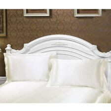 2x Silky Soft Charmeuse Silk Pillow Cases Beauty Pillowcase Bed Sleep Helper