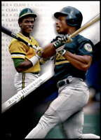Rickey Henderson 2019 Topps Gold Label Class One 5x7 #72 /49 Athletics