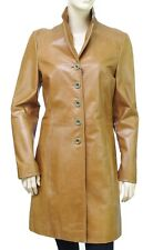 REDSKINS veste cuir femme cognac vieilli manteau BIBA STARDUST CARAMEL taille M