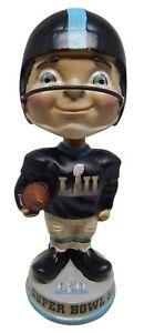 Super Bowl LII Vintage Bobblehead NFL Philadelphia Eagles New England Patriots