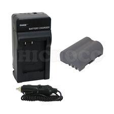 Battery+Charger For Nikon EN-EL3e D90 D700 D300 D80 D70 D50 D200 D300s D100 D70s